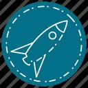 business, internet, marketing, rocket, round, seo, web icon