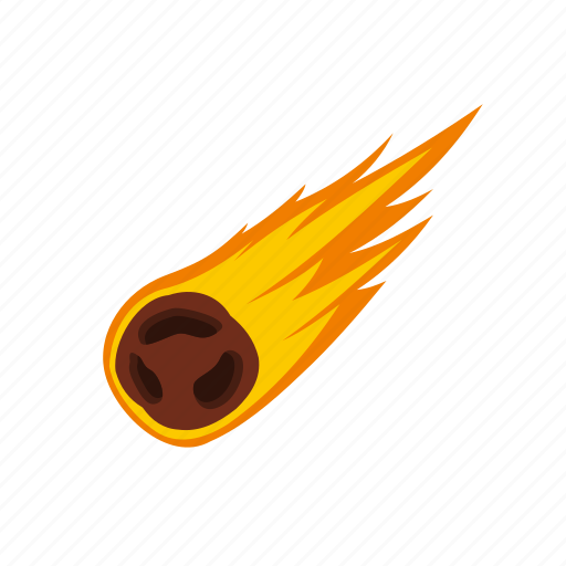 astronomy, comet, danger, meteor, meteorite, science, space icon