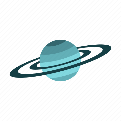 astronomy, planet, saturn, sky, solar, space, universe icon
