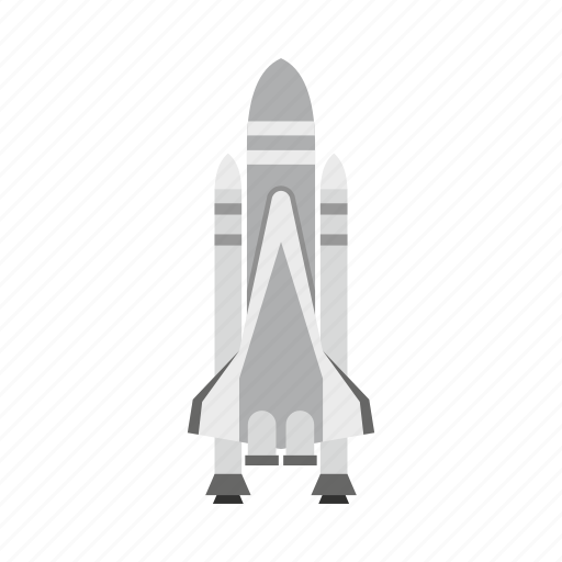 launch, rocket, ship, space, space shuttle, spaceship, travel icon
