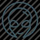alien, avatar, face icon