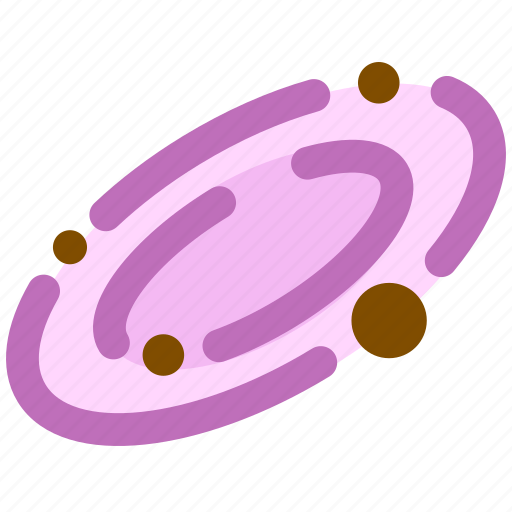 galaxy, science, space icon