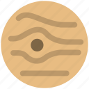 jupiter, planet, space icon