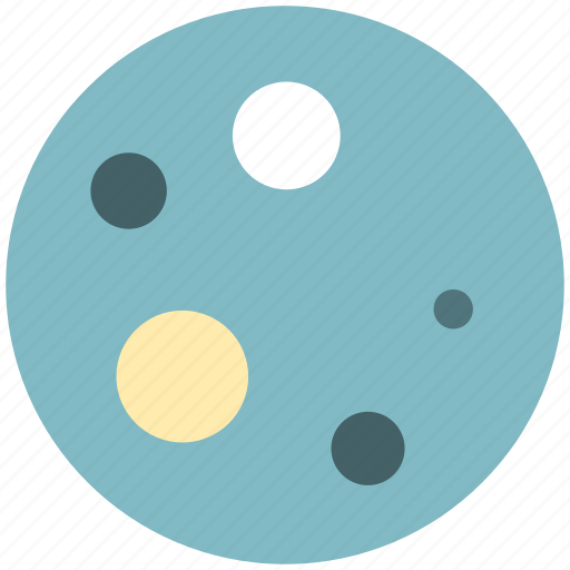 moon, planet, space, spaceship icon