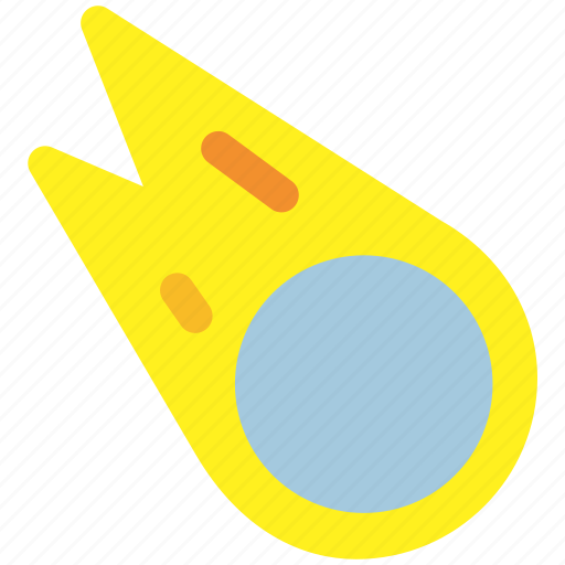 meteor, science, space icon