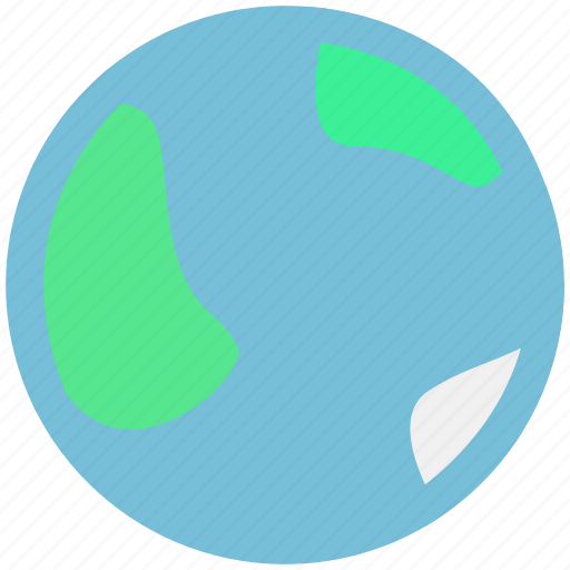 earth, planet, space icon