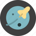 astronomy, orbit, space, universe icon