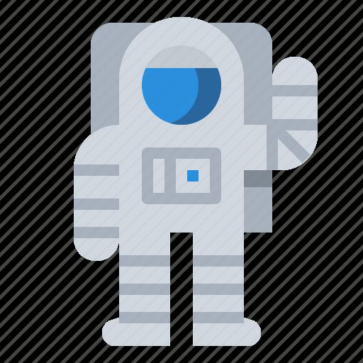 astronaut, cosmonaut, space, universe icon