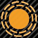 solar, sun, system, universe icon