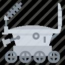 lunar, programme, robotic, unokhod icon