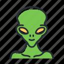 alien, extraterrestrial, monster, space