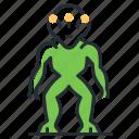 alien species, extraterrestrial, monster, space icon