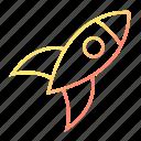 rocket, science, spaceship, startup
