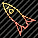 galaxy, launch, rocket, space, spaceship