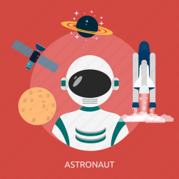 astronout, people, profession, science, space, suit, universe icon