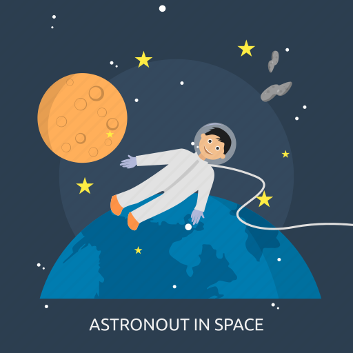 astronomy, astronout, people, science, space, star, universe icon