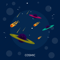 astronomy, cosmic, science, space, star, universe icon