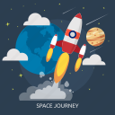journey, rocket, space, space journey, technology, universe