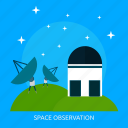 astronomy, observation, observatory, science, space, telescope, universe icon