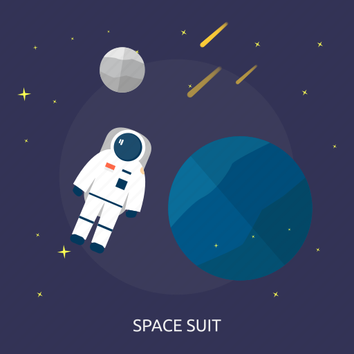 astronout, people, space, spacesuit, suit, universe icon