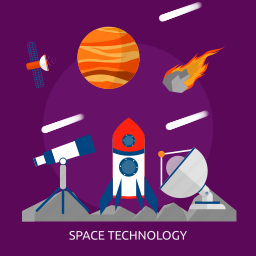 science, space, space technology, technology, universe icon