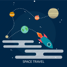 research, rocket, science, space, technology, travel, universe icon