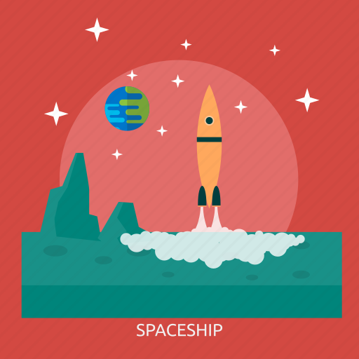 rocket, ship, space, space ship, universe icon