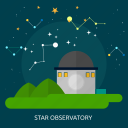 astronomy, observatory, science, space, star, telescope, universe icon