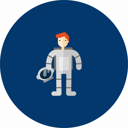 Astronaut, circle, concept, design, galaxy, object, space icon - Download on Iconfinder