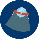 circle, concept, design, galaxy, object, space, ufo icon