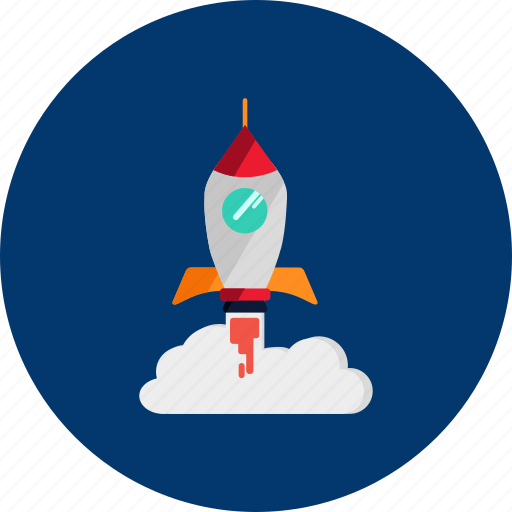 Circle, concept, design, galaxy, object, rocket, space icon - Download on Iconfinder