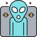 alien, monster, ufo icon