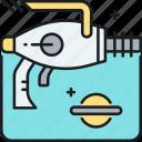 alien, weapon icon