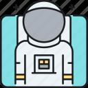astronaut, cosmonaut, spacesuit, spaceman