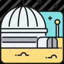 life dome, life dome planet base icon