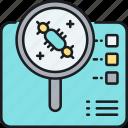 analysis, cell, examination, lifeform, sample, sampling icon