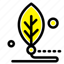 artificial, biology, digital, leaf, life icon