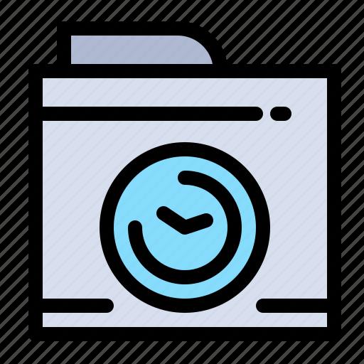 big, camera, image, think icon