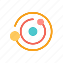 extraterrestrial, orb, orbit, outer, solar system, space icon