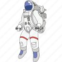 astronaut, launch, space, spaceman, technology, travel icon