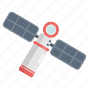 satellite, space, station