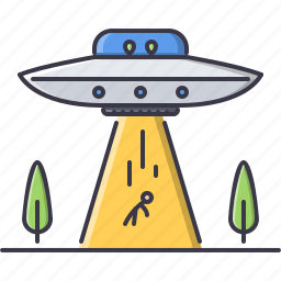 alien, astronomy, discovery, human, space, star, ufo icon