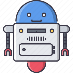 astronomy, discovery, robot, space, star icon