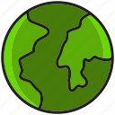 earth, globe, map, planet, sky, space, world