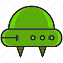 fly, planet, ship, sky, space, space ship, ufo icon