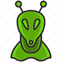 alien, exotice, fly, foreign, planet, sky, space icon