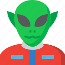 alien, astronomy, avatar, science, scifi, space, universe icon