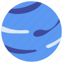 astronomy, cosmos, education, neptune, planet, space, universe icon