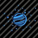 galaxy, planet, space, ufo, universe icon