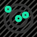 orbit, planet, solar system, space icon
